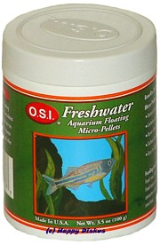 O.S.I. Freshwater Micro Pellets, floating