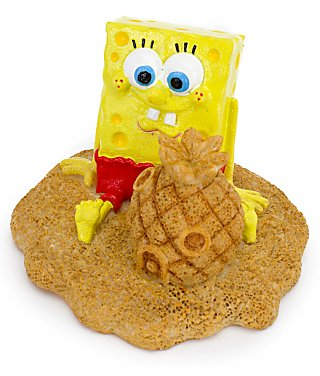 Penn-Plax Decoration -SpongeBob Pineapple House-