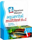 Aquarium Münster aquavital Multitest 6 in 1