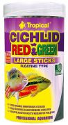 Tropical Cichlid Red & Green Large Sticks