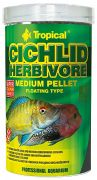 Tropical Cichlid Herbivore Medium Pellet