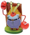 Penn-Plax Decoration SpongeBob -Mr. Krabs-