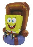 Penn-Plax Decoration -SpongeBob in the Chair-