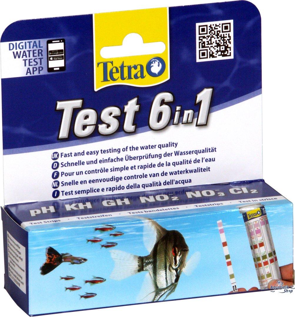 tetra test 6 in 1 test strips. Black Bedroom Furniture Sets. Home Design Ideas