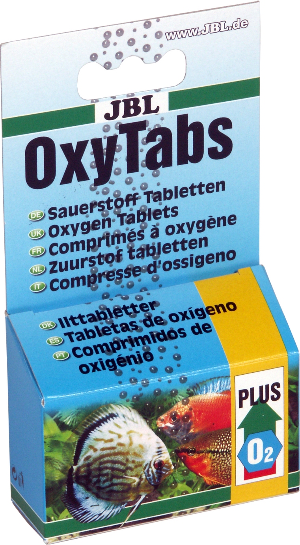 Oxygen tablettes aquarium jbl oxytabs for Oxygen tablets for fish