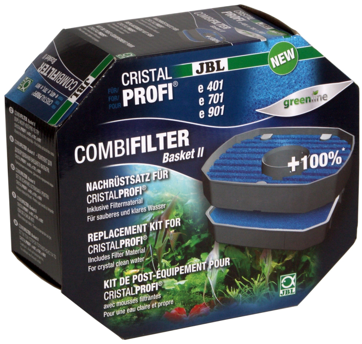 JBL CP e1501,2 Impeller-Set greenline Complete spare impeller kit for JBL CristalProfi e external filters