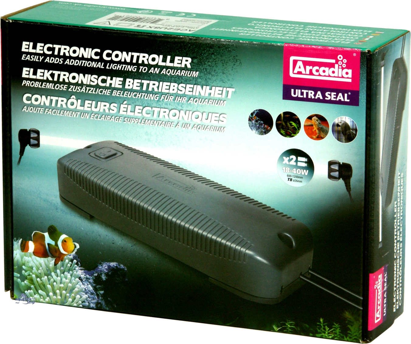 Arcadia Ultra Seal Electronic Double Controller T8