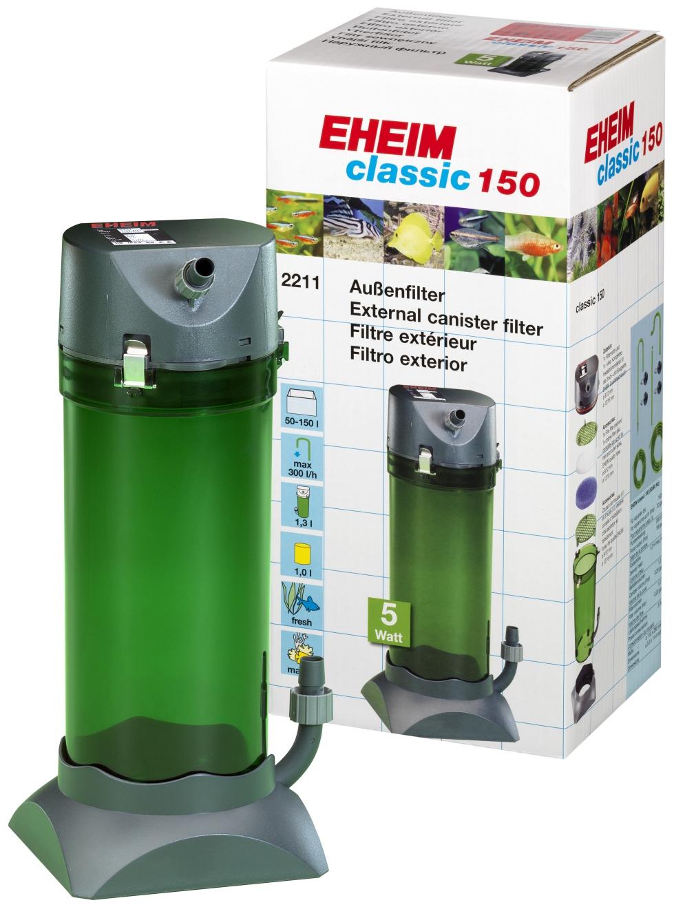 Αποτέλεσμα εικόνας για eheim external filter classic 150