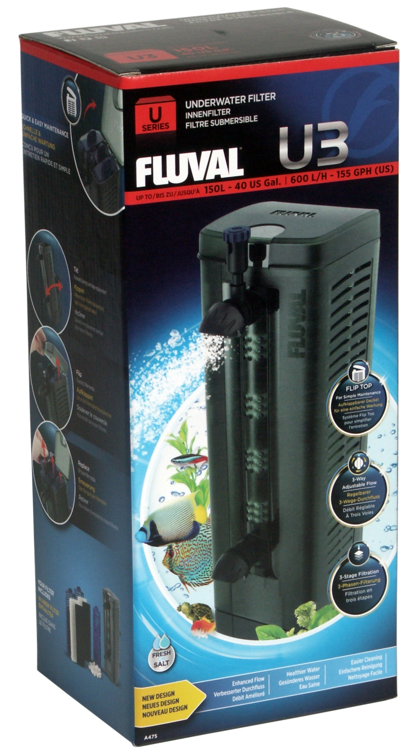 Fluval Aquarium Internal Filter U3