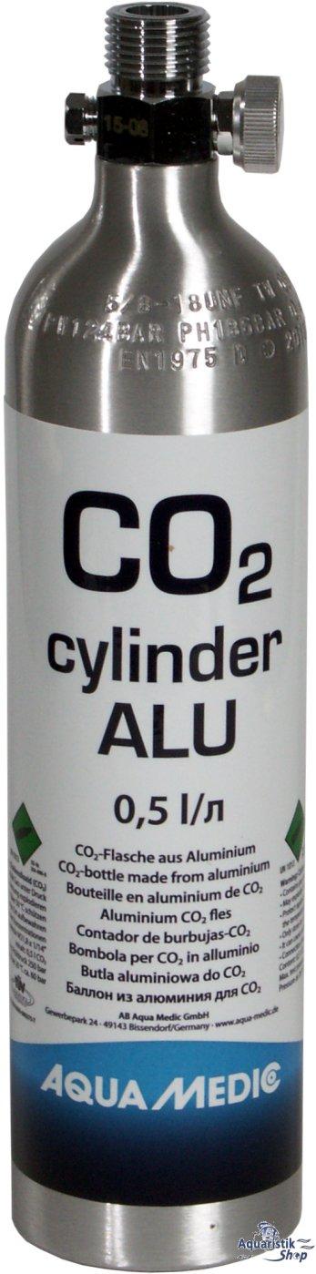aqua medic co2 cylinder alu co2 flasche 500g. Black Bedroom Furniture Sets. Home Design Ideas