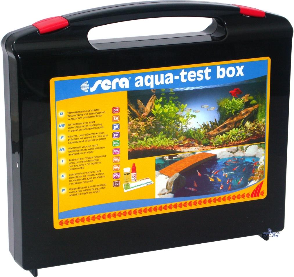 Sera Aqua Test Box Cu Cl
