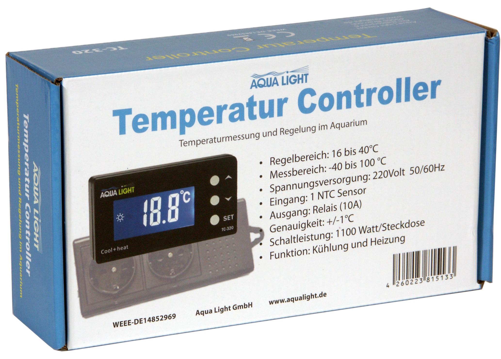 Aqua Light Temperature Controller TC-320